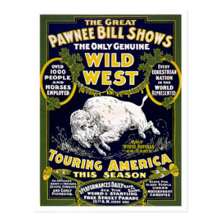 Wild West Show, 1903 Postcard