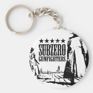 Wild West Subzero Gunfighters key ring/chain Basic Round Button Key Ring