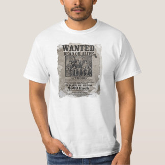 Wild West Wanted Poster T-Shirt