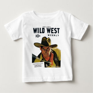 Wild West Weekly - Frontier of Missing Men Baby T-Shirt