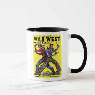 Wild West Weekly Nov. 1938 Coffee  Mug