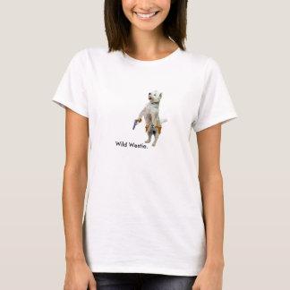 Wild Westie. T-Shirt