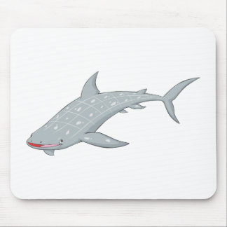 Wild Whale Shark Mouse Pad