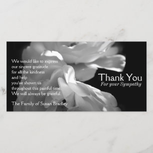 thank you for sympathy gifts