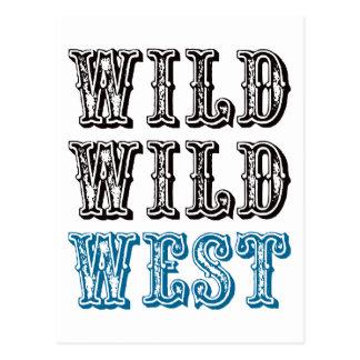 Wild Wild West - Blue Post Cards