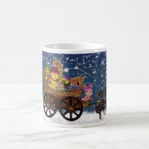 Wild Winter Hayride Coffee Mug