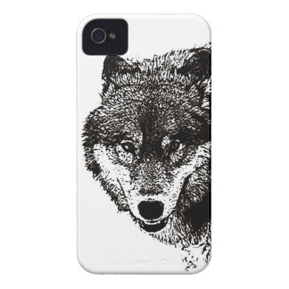 Wild Wolf iPhone 4 Barely There Universal Case