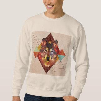 wild wolf pull over sweatshirts