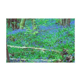 Wild Wood England Canvas Print