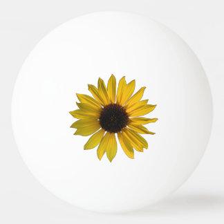 Wild Yellow Sunflower Ping Pong Ball