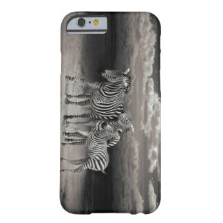 Wild Zebra Socialising in Africa Barely There iPhone 6 Case