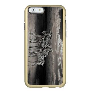 Wild Zebra Socialising in Africa Incipio Feather® Shine iPhone 6 Case