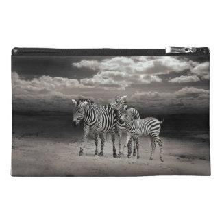 Wild Zebra Socialising in Africa Travel Accessory Bag