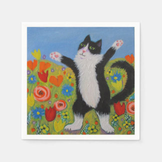 Wildboy Welcomes Spring Paper Napkins
