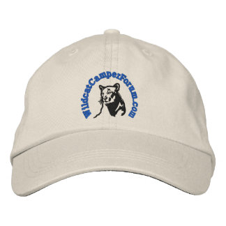 Wildcat blue logo hat embroidered hats