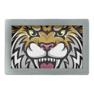Wildcat Bobcat Mascot Belt Buckles