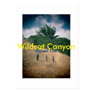 Wildcat Canyon postcard