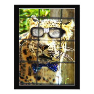 Wildcat Pidasol 11 Cm X 14 Cm Invitation Card