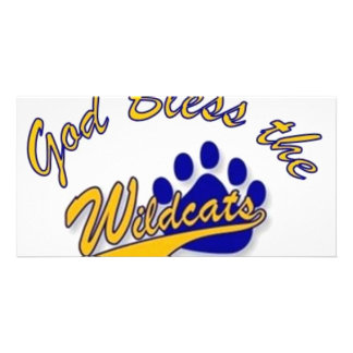 wildcat pin picture card