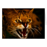 Wildcat Stationery Note Card