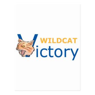 Wildcat Victory Postcard