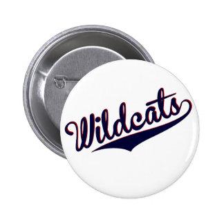 Wildcats 6 Cm Round Badge