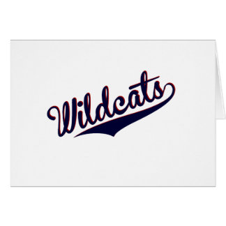 Wildcats Greeting Card