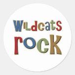 Wildcats Rock Stickers