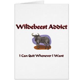 Wildebeest Addict Cards