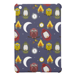 Wilderness Camping Theme iPad Mini Cover
