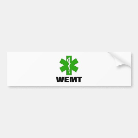 Wilderness EMT Bumper Sticker