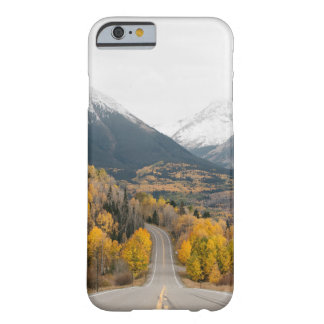 Wilderness Road, mountain and forest Barely There iPhone 6 Case