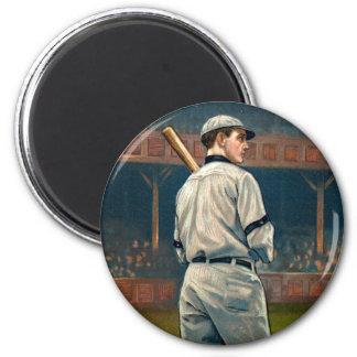 Wildfire Schulte, Chicago Cubs, 1911 6 Cm Round Magnet