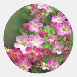 wildflower 1 classic round sticker