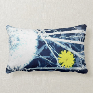 Wildflower and Dandelion Pillow