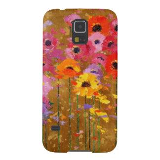 Wildflower Art Galaxy S5 Cases