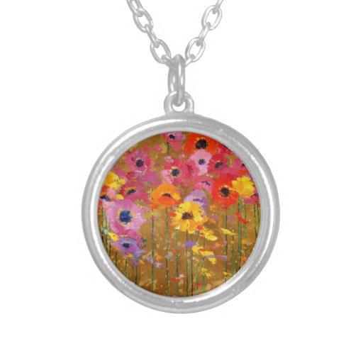Wildflower Art Necklaces