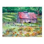 Wildflower Barn Postcard