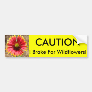 Wildflower Bumper Sticker