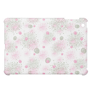 Wildflower Doodles hard shell ipad case