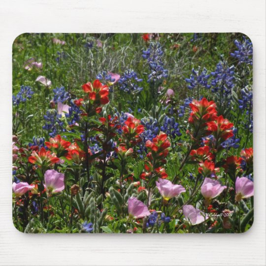 Wildflower Dreams Mouse Mat