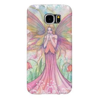 Wildflower Fairy Fantasy Art Illustration Samsung Galaxy S6 Cases