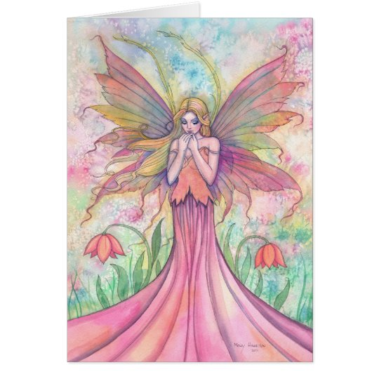 Wildflower Fairy Greeting Card