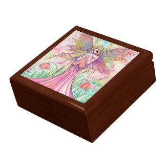 Wildflower Fairy Trinket box