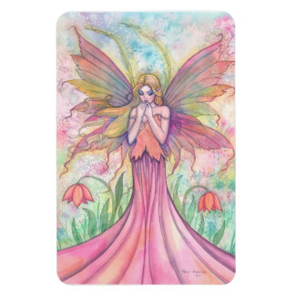 Wildflower Fairy Vinyl Large Magnet