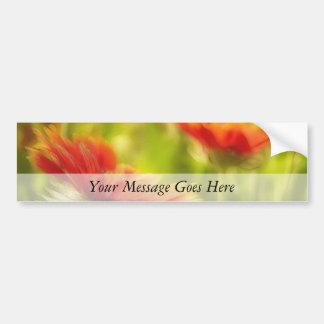 Wildflower Field - Gaillardia Bumper Sticker