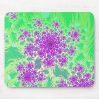 wildflower heads mouse pad