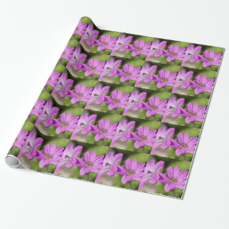 wildflower in the garden wrapping paper