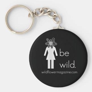 Wildflower Keychain
