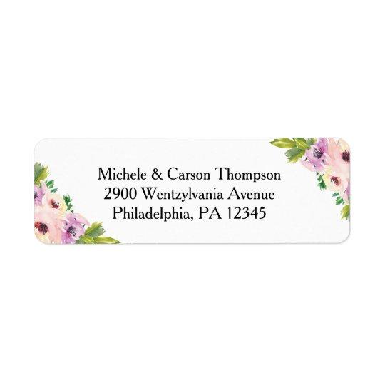 Wildflower Labels